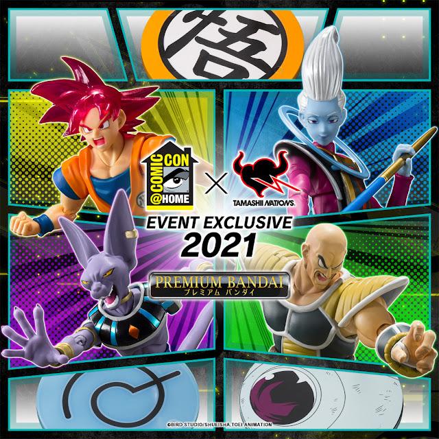 Tamashii Nations anuncia sus exclusivas del Comic-Con @Home 2021.