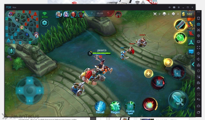cara main mobile legends menggunkan nox player - teknologiku99