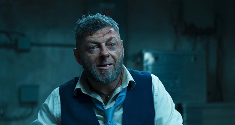Andy Serkis es Klaue en Black Panther