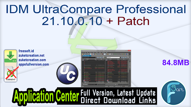 IDM UltraCompare Professional 21.10.0.10 + Patch