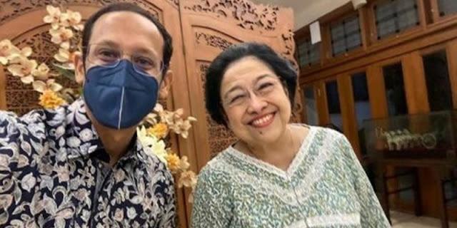 Percuma Nadiem Selfie Bareng Megawati, Rakyat Sudah Banyak Yang Minta Dia Dicopot