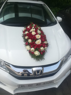 Wedding Car Decoration Images Kerala