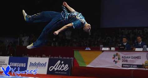 Wushu Sumbang Medali Pertama Indonesia di Asian Games