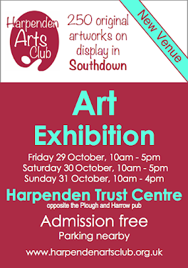 FORTHCOMING EXHIBITION IN HARPENDEN