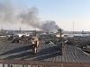 На Вишгородщині сталася масштабна пожежа біля лісу