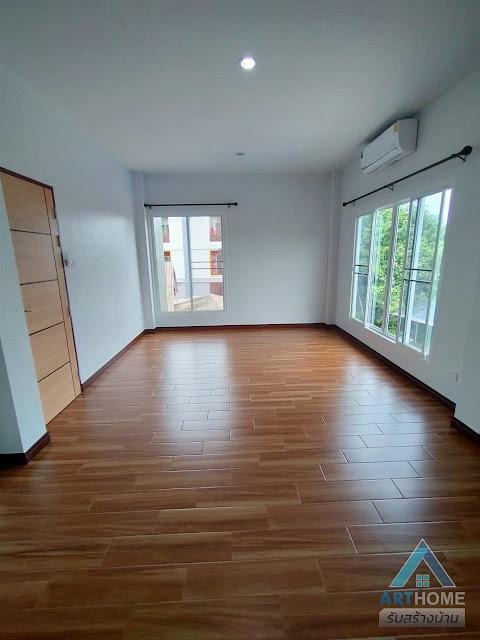 พื้นบ้านสไตล์ไม้เทียม