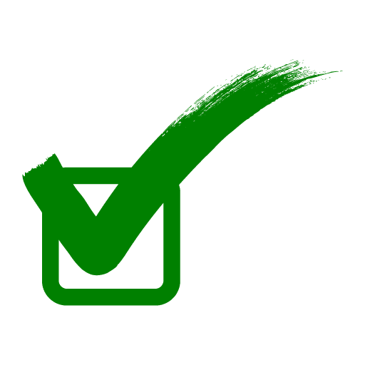 Check mark, Green correct sign, check and box icon, angle, leaf, text png free png