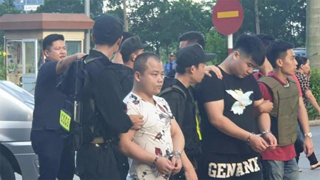 Bắt 21 đối tượng người Trung Quốc liên quan đến việc tổ chức đánh bạc qua mạng ở Quảng Ninh