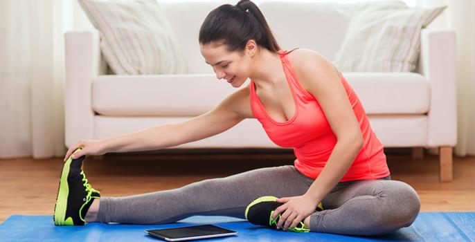 Dicas para aprender a fazer exercícios diariamente em casa para mulheres