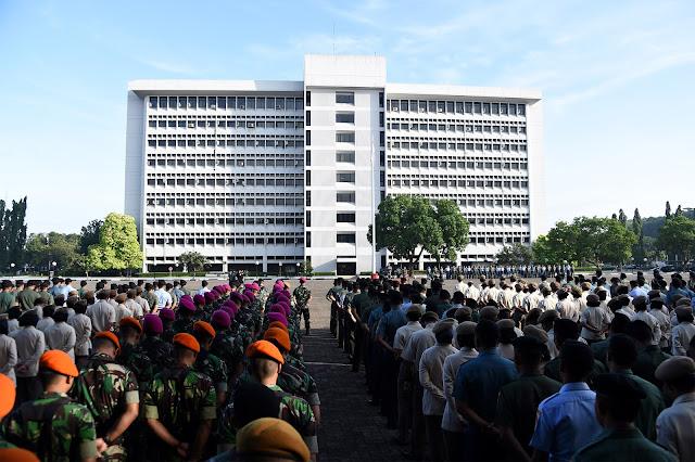 P anglima TNI Pimpin Apel Khusus Awal Tahun 2018