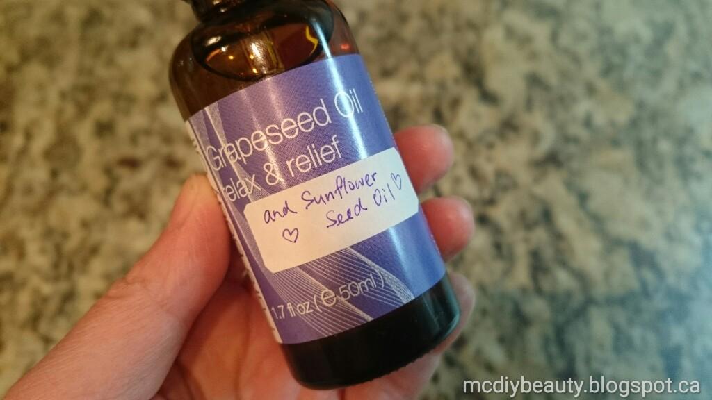 MC DIY Beauty: 分子釘身體護理油 DIY Ceramide Body Oil