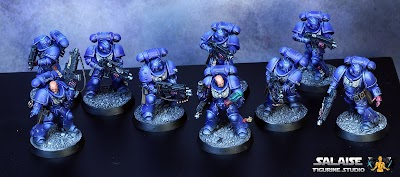 [Painting commission] Armée crimson fist