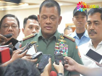 Panglima TNI Meyakinkan Bahwa Personelnya Tidak Terlibat dalam Kasus Penyeludupan Senjata di Sudan