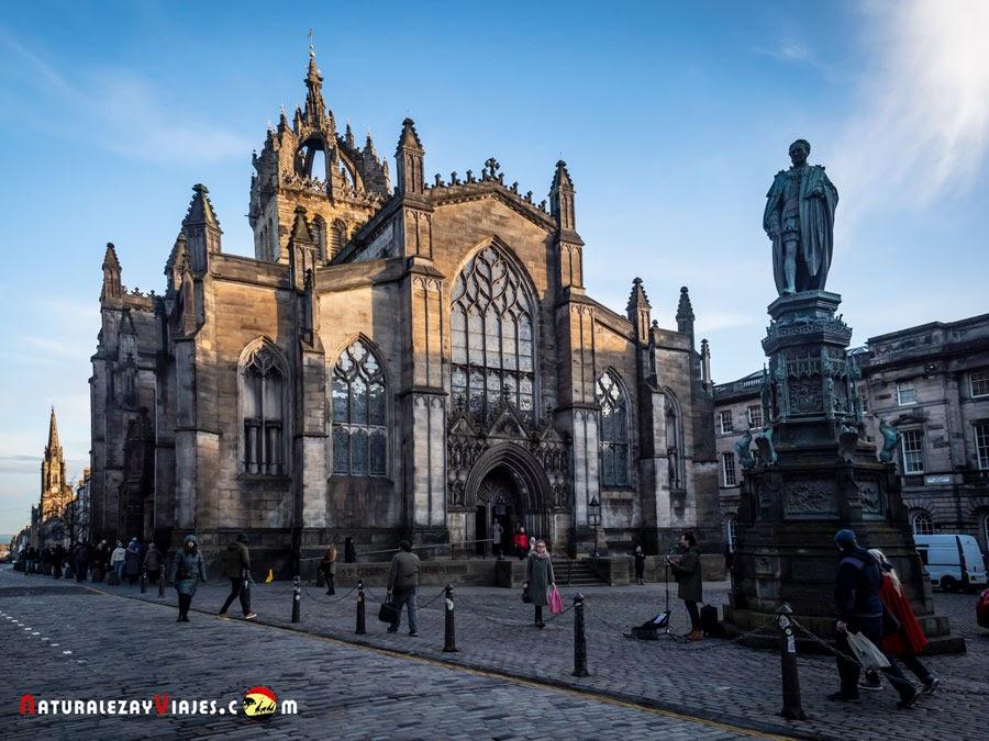 Catedral de Saint Gile's en Edimburgo