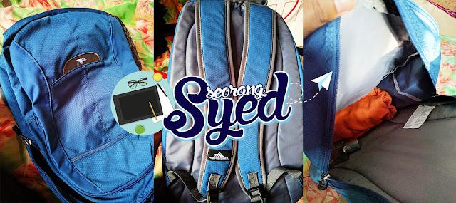 Bagpack Hadiah Daripada Blogger