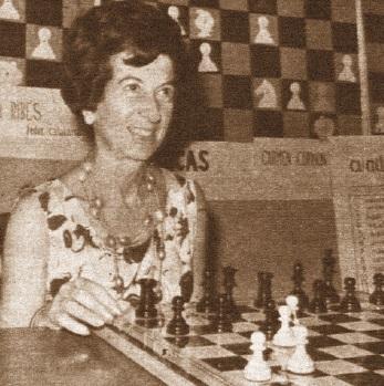 La ajedrecista María Luisa Gutiérrez
