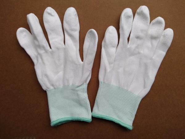 Găng tay PU phủ ngón trắng