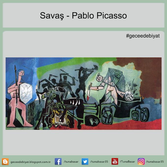 Savaş - Pablo Picasso