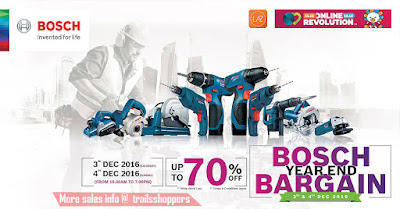 Bosch Year End Bargain 2016