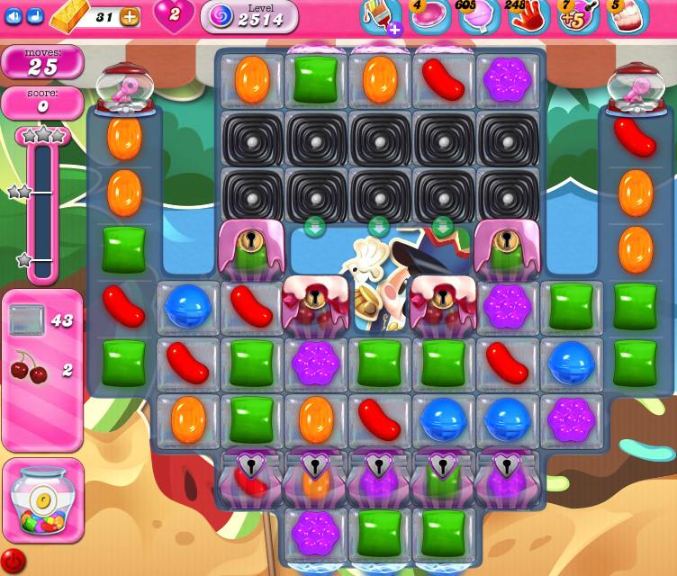 Candy Crush Saga level 2514