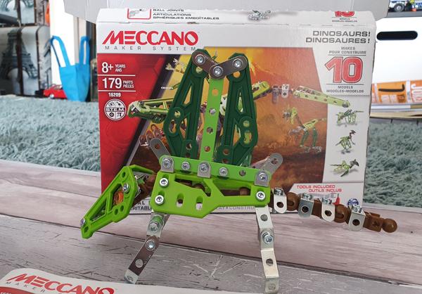 Meccano Dinosaur