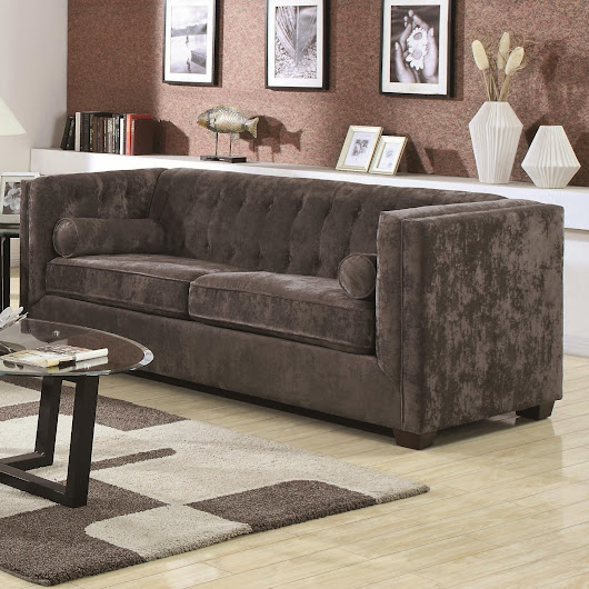 velvet chesterfield sofa