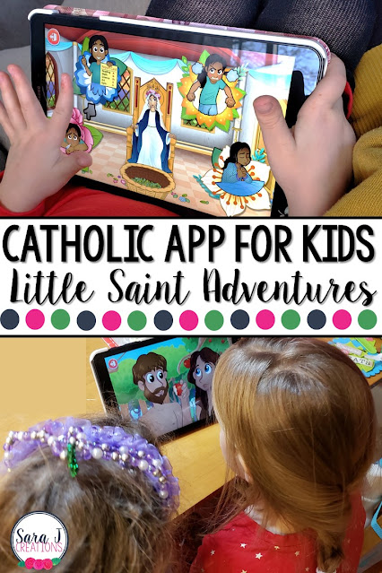 Little Saint Adventures is the perfect app for Catholic kids to learn all about the Catholic faith, prayers, the life of Jesus, Bible stories, saints and more.