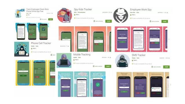 جوجل تسحب سبع تطبيقات تتبع من متجر أندرويد