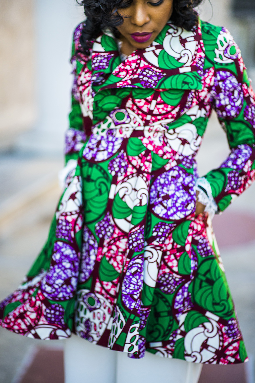Yetunde Sarumi: Resa Dress Coat