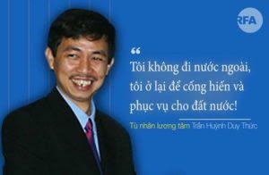 Doanh nhân Trần Huỳnh Duy Thức và bản án 16 năm