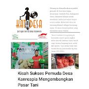 Pasar Tani di Media Kata Desa, Kisah Pemuda Desa Kanreapia Kembangkan Pasar Tani