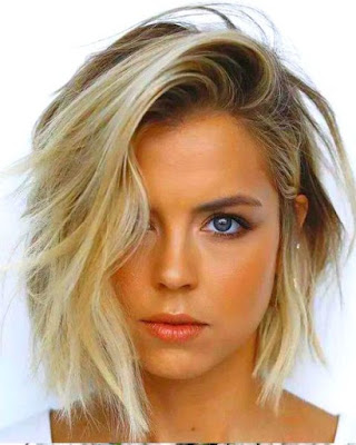 Messy haircut - 20 Best Medium Layered Haircut - For Women Of All Ages