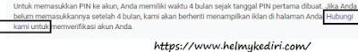 verifikasi alamat PIN Adsense menggunakan Buku Tabungan