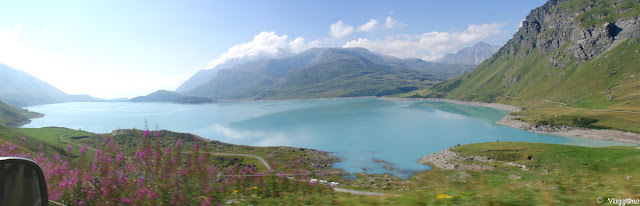 Vista Panoramica sul Lago del Moncenisio