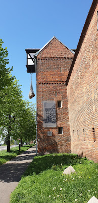 Toruń baszty mury