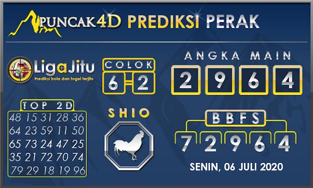 PREDIKSI TOGEL PERAK PUNCAK4D 06 JULI 2020