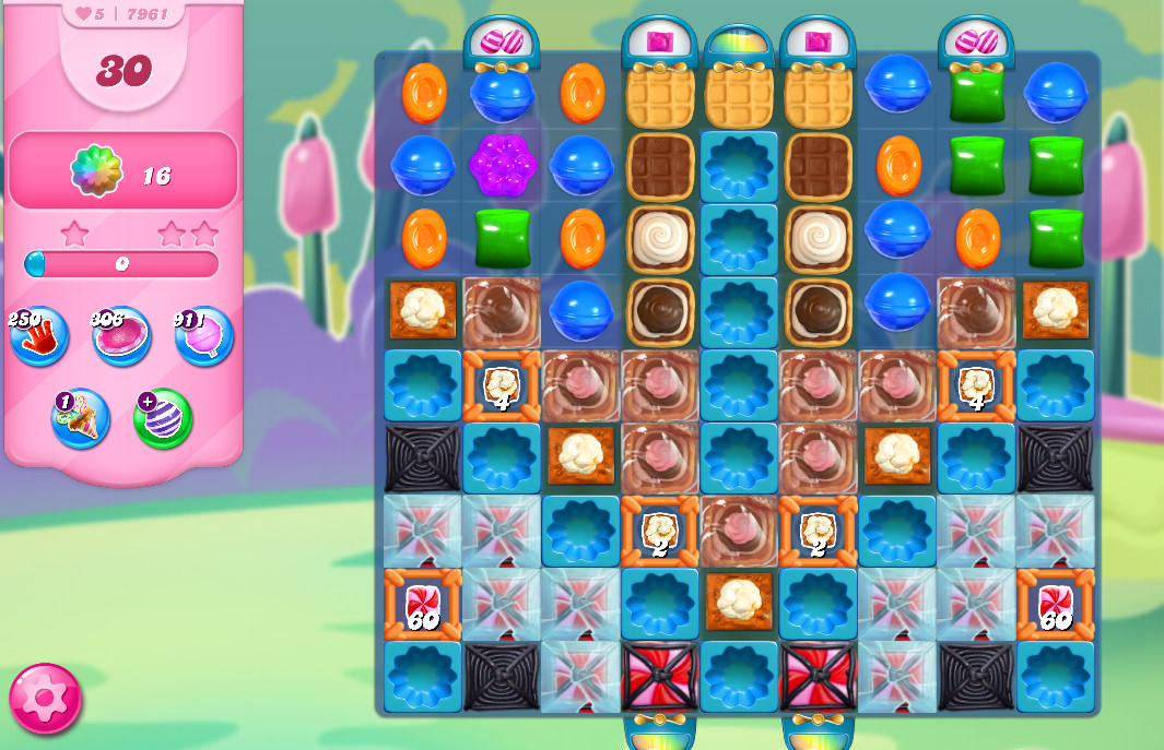 Candy Crush Saga level 7961
