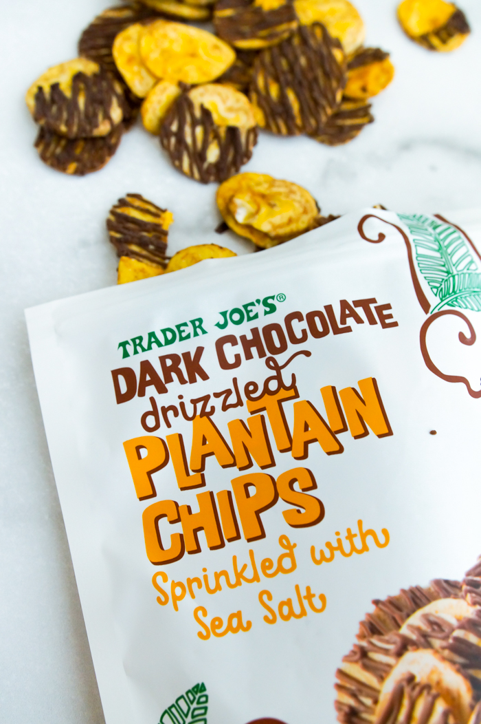 Trader Joe's Dark Chocolate Drizzled Plantain Chips review