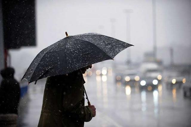 مطر شديد
