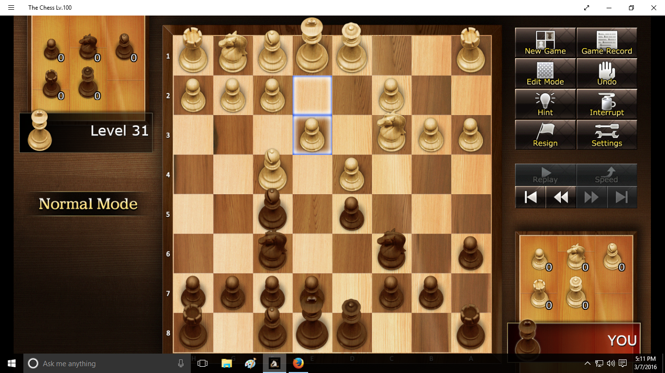 2018 Misc Chess Checkmate Diagram A Is Called Quotat Level 31 And Its Definitely Not Rolling Over Playing Dead This Image From The Free Version You Are Seeing Usual Ad At Lower Left Below