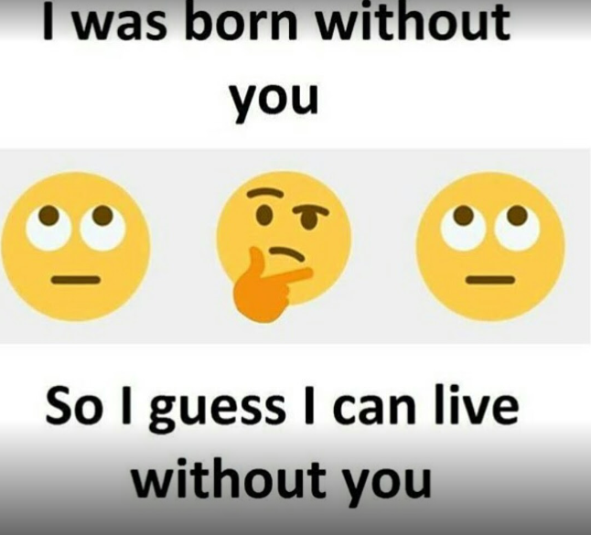 I Can Live Without You Quotes And Sayings