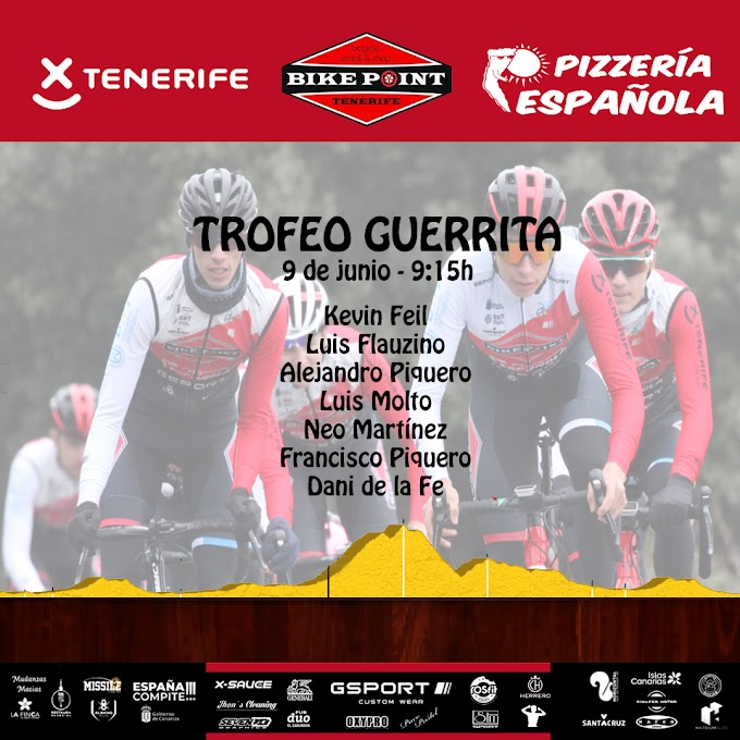 El Trofeo Guerrita inaugura la semana más intensa para el Tenerife BikePoint Pizzería Española