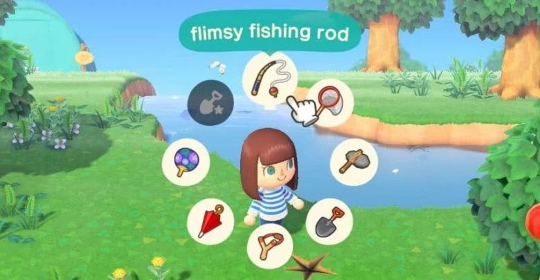 How to get quick access to tools in Animal Crossing: New Horizons
