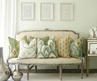 Audrey de extrarradio cojines y mantas low cost para el sof - Cojines para el sofa ...