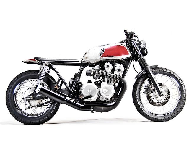 ♠Milchapitas-Kustom Bikes♠: Honda CB750 1980 By Motohangar