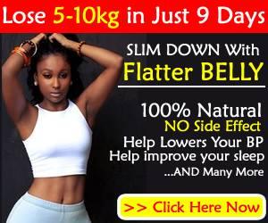 ghana health solution lose weight burn tummy fat  get