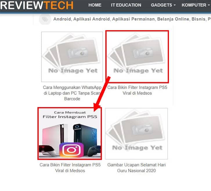 cara mengatasi gambar related post diblog tidak muncul
