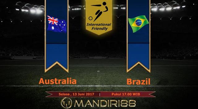 Prediksi Bola : Australia Vs Brazil , Selasa 13 Juni 2017 Pukul 17.00 WIB