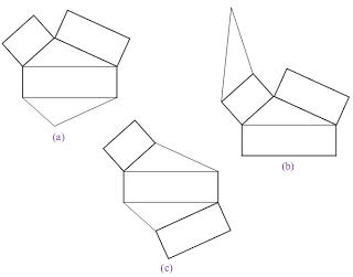 jaring-jaring pada prisma segitiga
