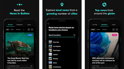News in Bullets Android App